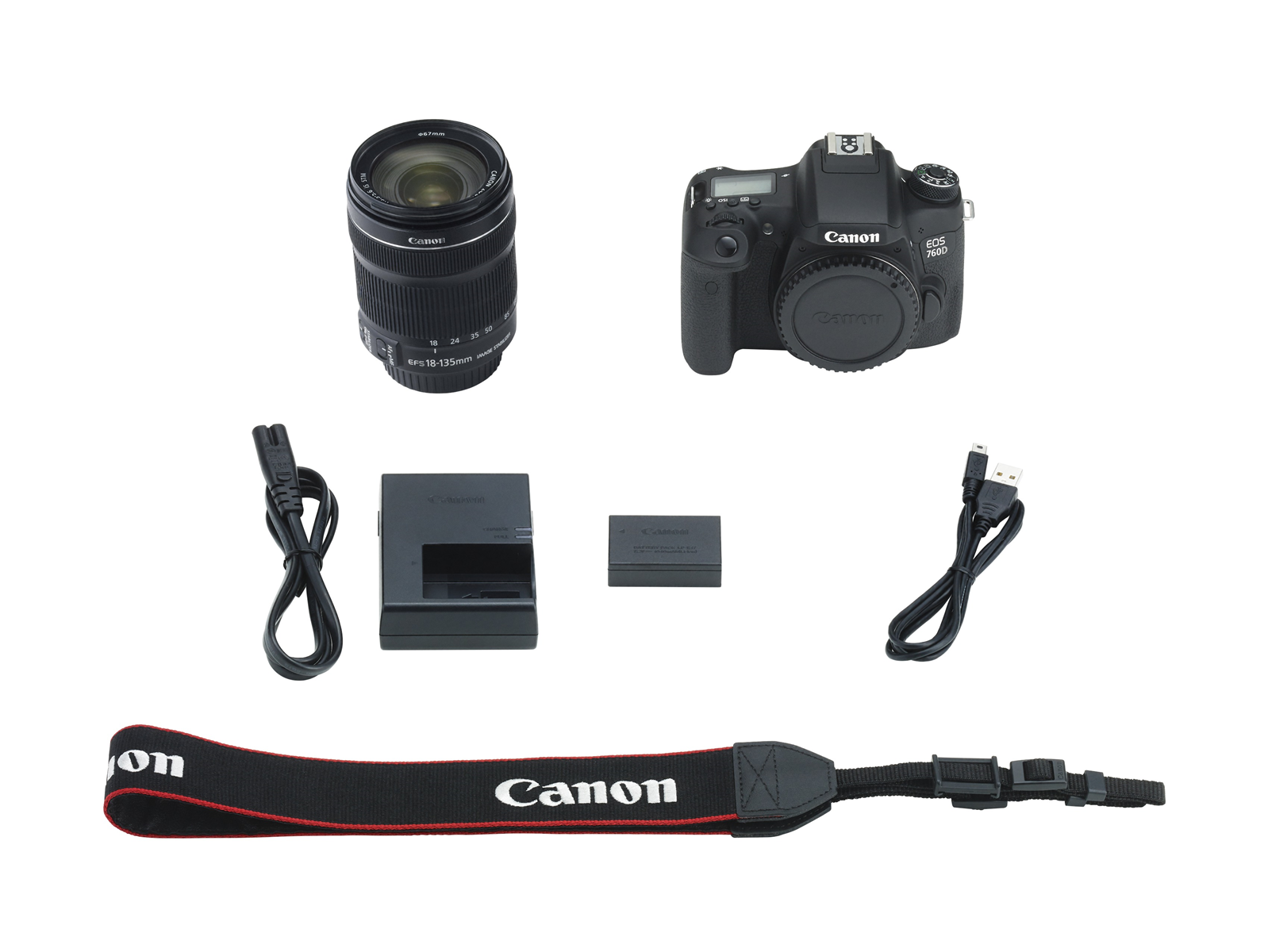 Photography Dslr Cameras Canon Eos 760d Kit 18 135 Stm 16gb Body Only Camera 760 Bo C10 Bag 3 Reviews Write A Review